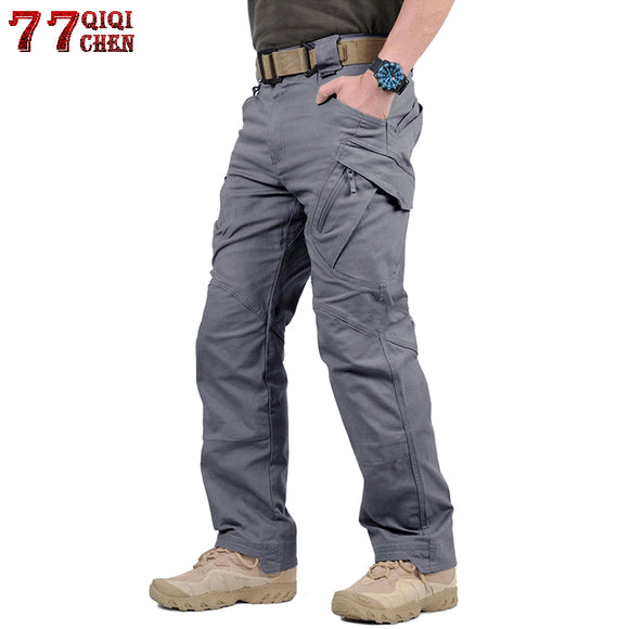 Tactical Pants Army Military Style Cargo Pants Men IX7 IX9 Combat Trousers Casual