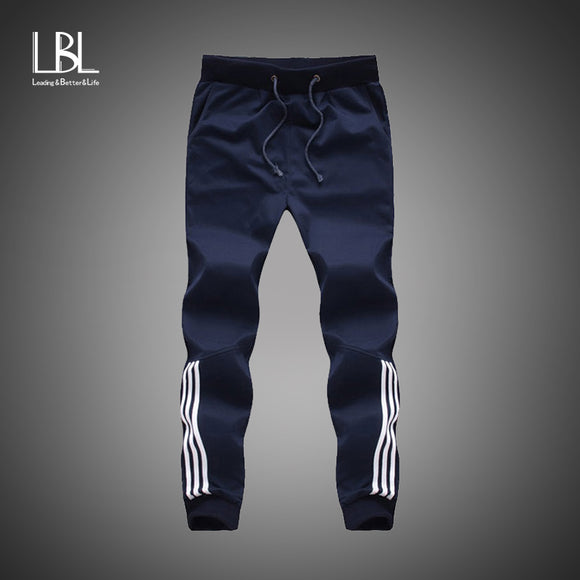 2018 New Fashion Tracksuit Bottoms Mens Casual Pants Cotton Sweatpants
