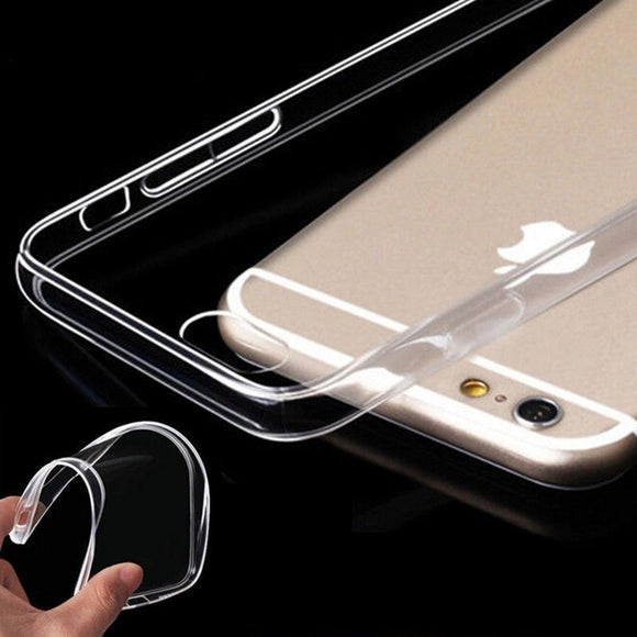 Ultra Thin 0.3MM TPU Case For Coque iPhone X XR XS Max Clear Crystal Soft TPU Case For iPhone 7 Case For iPhone 8 7 6S Plus 5 5S
