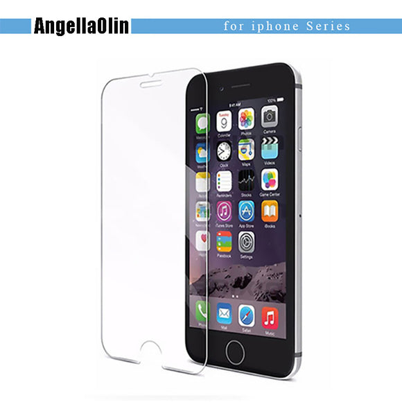 TOP 9H tempered glass For iPhone screen protector
