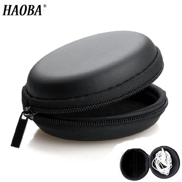 HAOBA Earphone Holder Case Storage Carrying Hard Bag Box Case