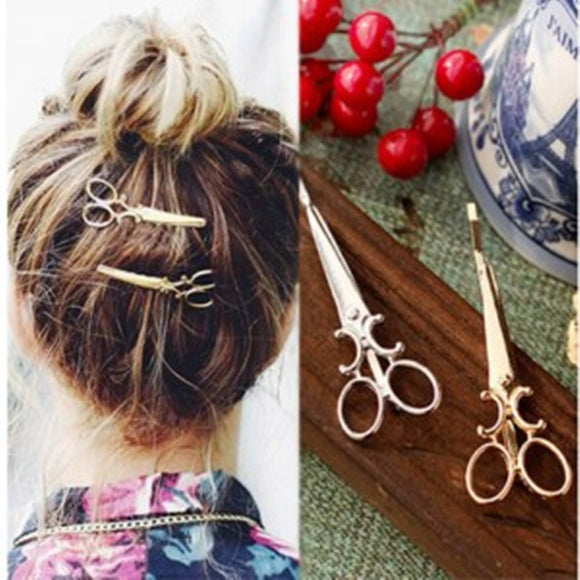 1PCS Korean version of the simple hair ornaments personalized hair clips