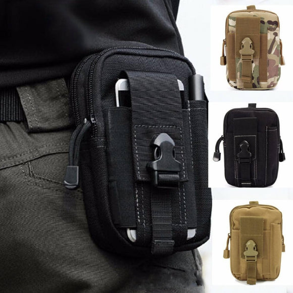 Men's Outdoor Camping Bags Tactical Molle Backpacks Pouch Belt Bag Military Waist Backpack Soft Sport Running Pouch Travel Bags