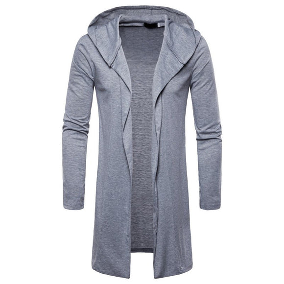 HEFLASHOR 2018 Brand New Men Trench Coat Spring