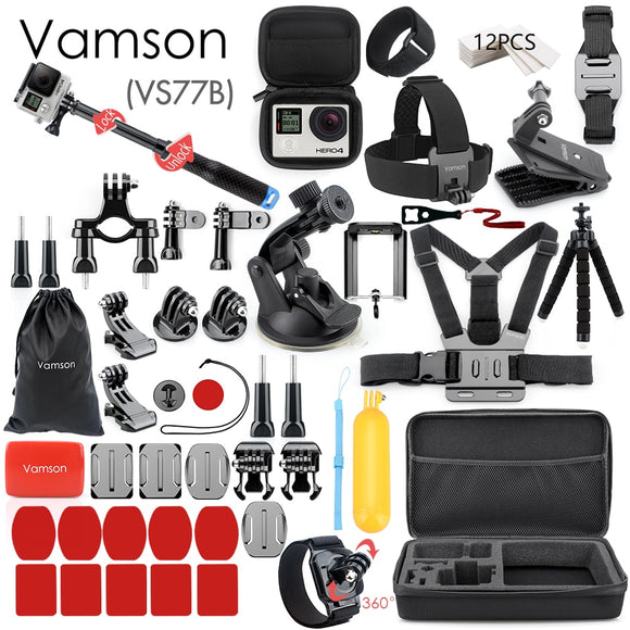 Vamson for Gopro Accessories Set for go pro hero