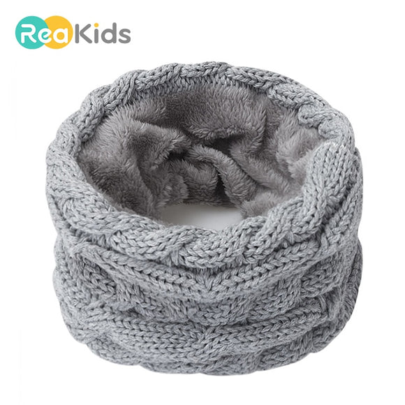 REAKIDS Winter Children Neck Scarf For Adult