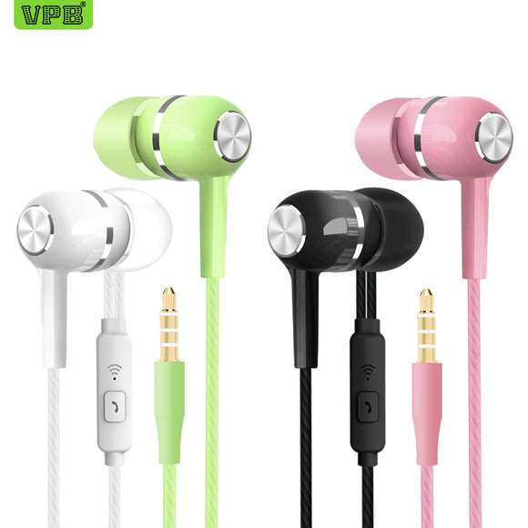 VPB S12 Sport Earphone wholesale Wired Super Bass