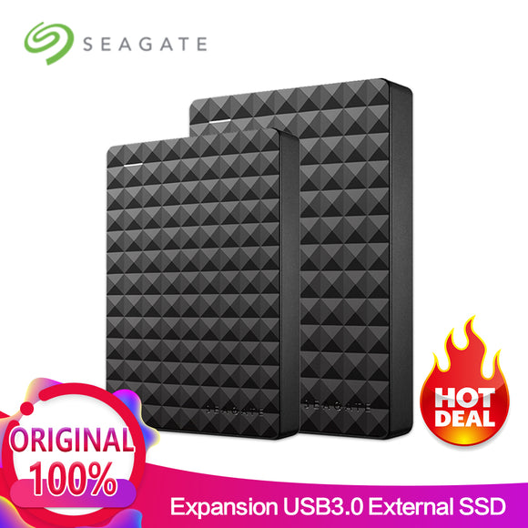 Seagate Expansion USB 3.0 HDD 2.5 500GB 1TB 2TB 4TB Portable External Hard Drive Disk