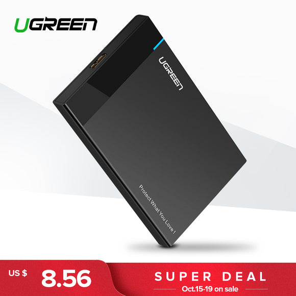 Ugreen HDD Case 2.5 inch SATA to USB 3.0 SSD Adapter