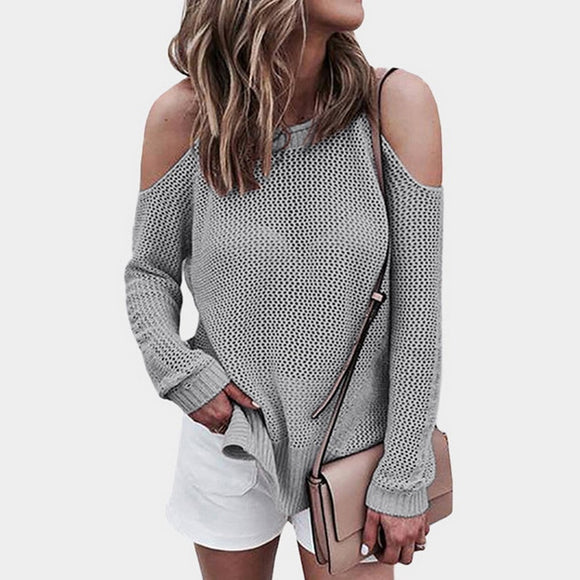 CALOFE Autumn Women Sweater Causal Sleeveless Knitted