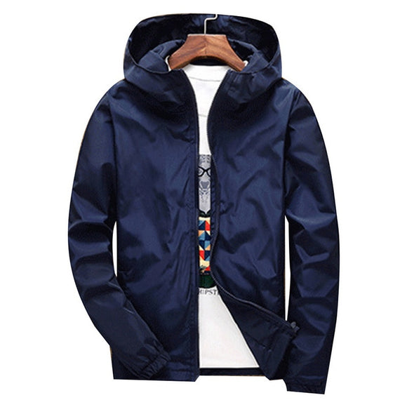 SHUJIN Winter Windbreaker Jacket Men Autumn Large Size Mens Clothing