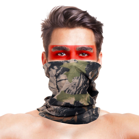 High-Jump Camouflage Hiking Scarves Bandana Men