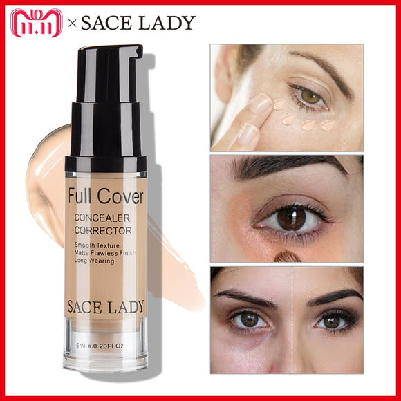 SACE LADY Professional Eye Concealer Makeup Base 6ml Full Cover
