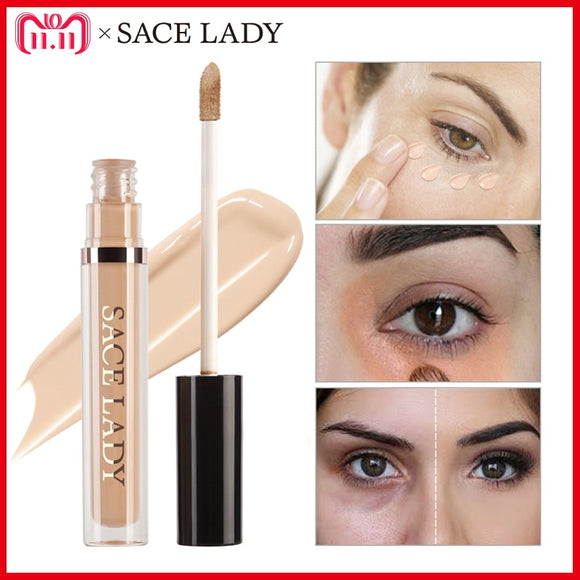 SACE LADY Pro Concealer Makeup Full Cover for Eye Dark Circle Face Corrector