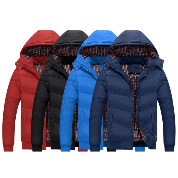 NIANJEEP winter jacket men men's coat winter brand man clothes