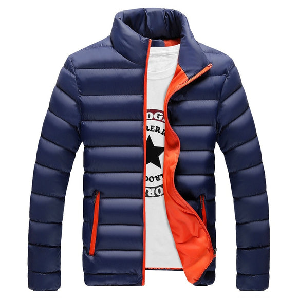 NIANJEEP  Casual Men Jacket Arrival Winter Outwear Coat Male Comfortable