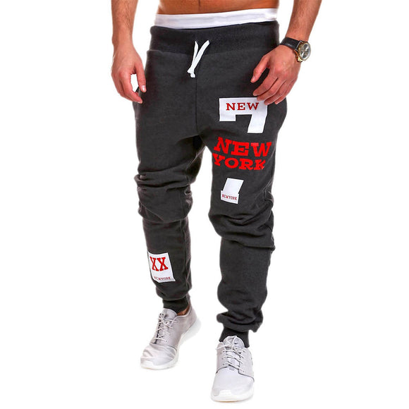 Leisure Trouser Casual Polyester Boys Men'S Pants Loose