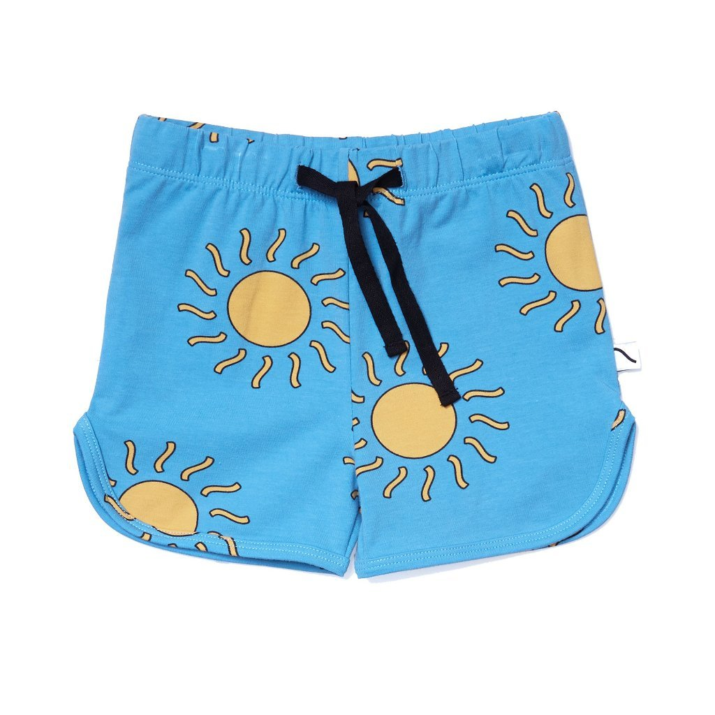 CarlijnQ Big Sun Shorts - Blue