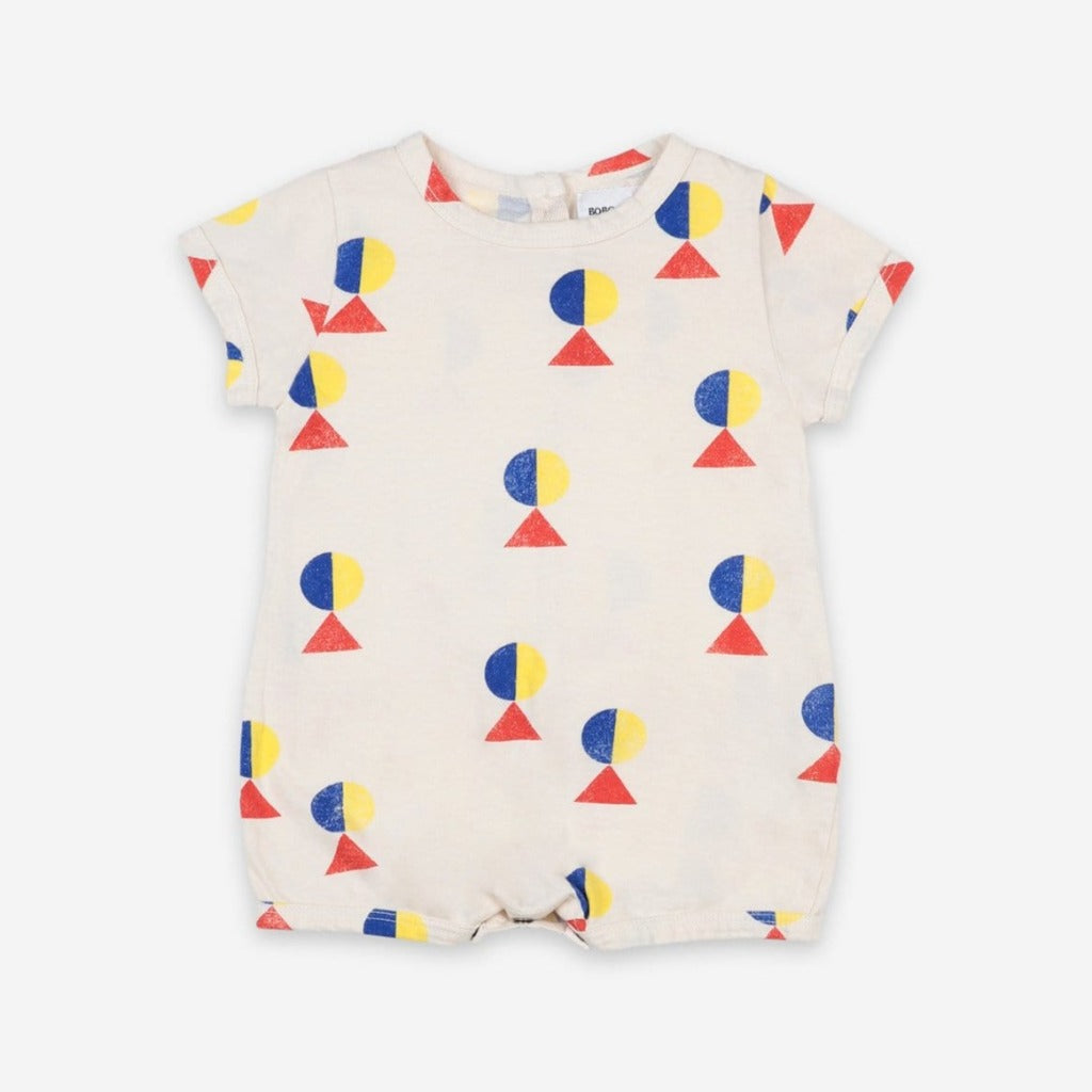 Bobo Choses Bodysuits Bobo Choses - Geometric All Over Playsuit