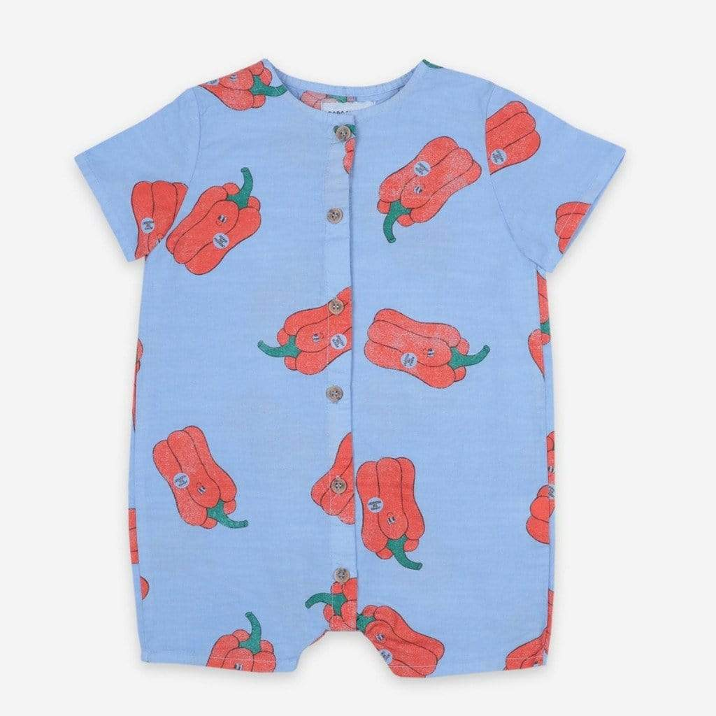 Bobo Choses Bodysuits Bobo Choses - Vote For Pepper All Over Woven Playsuit