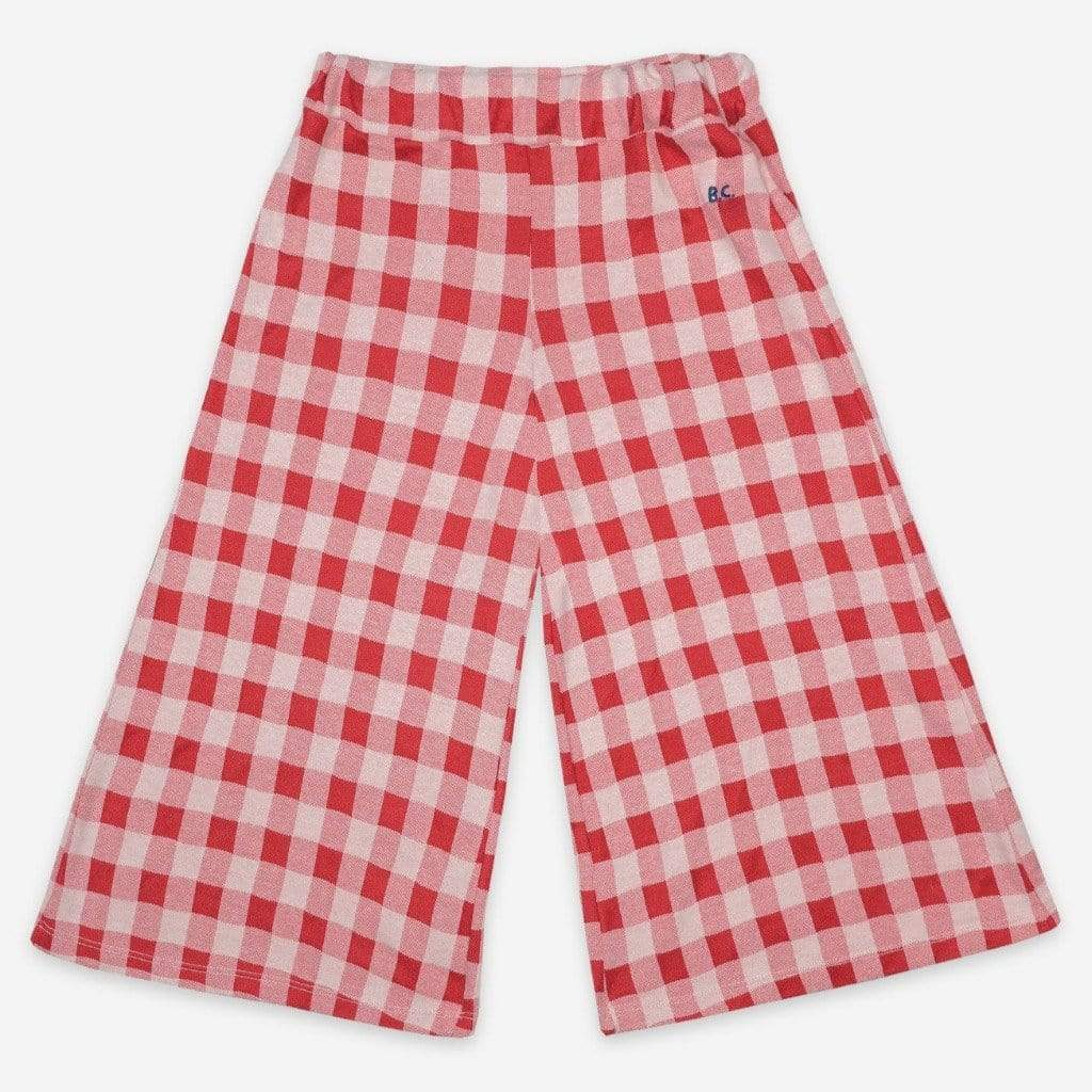 Bobo Choses Bottoms Bobo Choses - Vichy Culotte Trousers