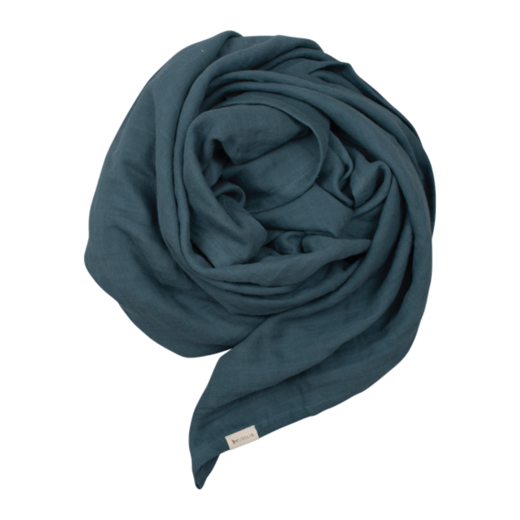 Fabelab Swaddle Fabelab Swaddle/Extra Large Muslin Cloth -Blue Spruce