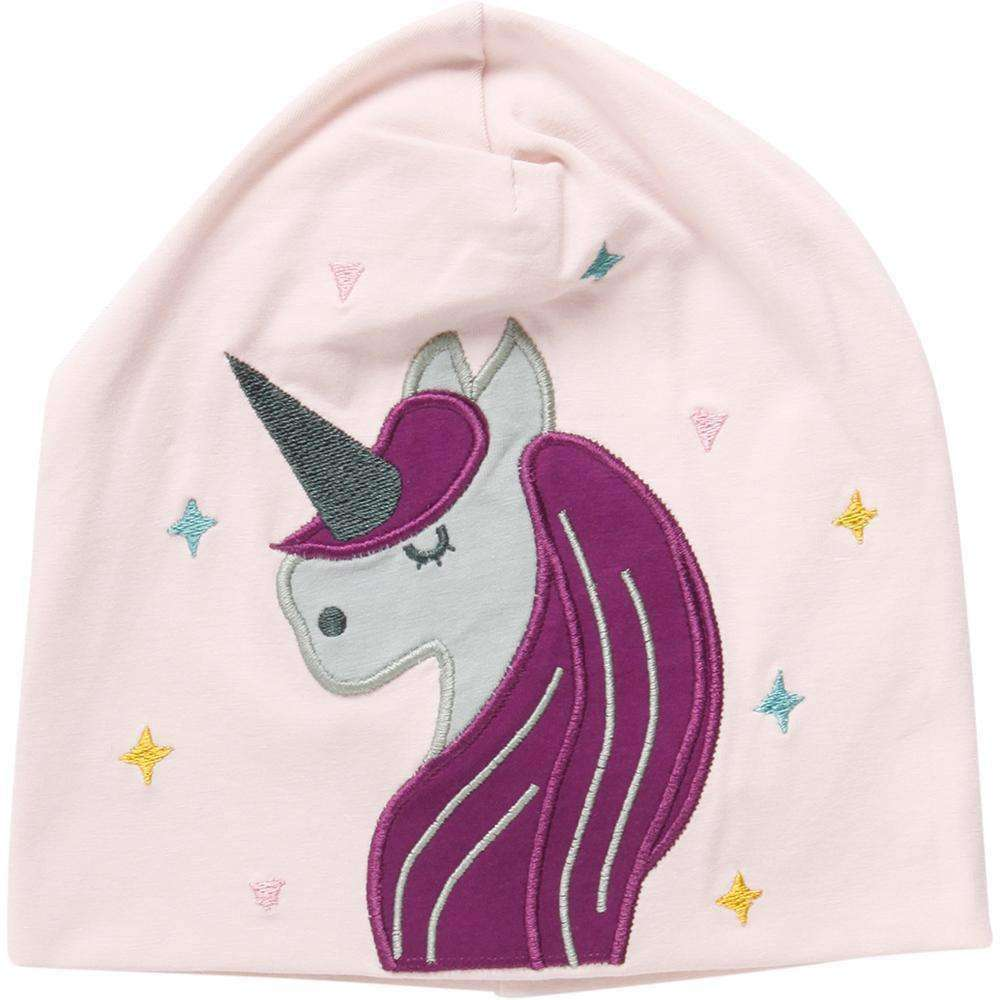Fred's World by Green Cotton Accessories Fred's World by Green Cotton Unicorn applique beanie