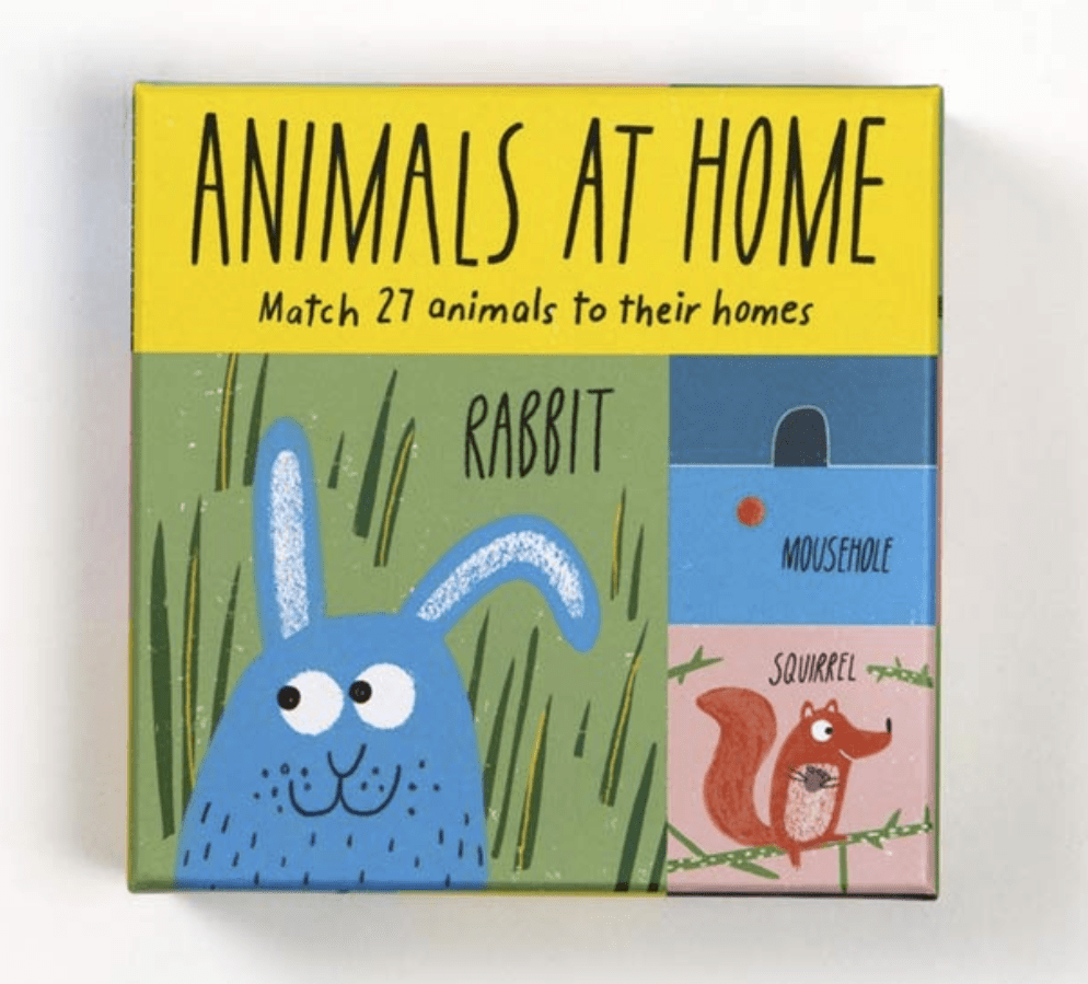 Laurence King Publishing Games Animals at Home: Match 27 Animals to Their Homes