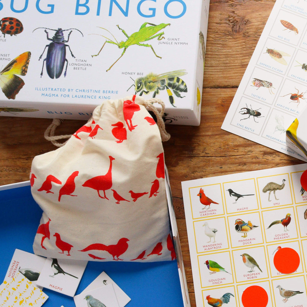 Laurence King Publishing Games Bird Bingo - Christine Berrie