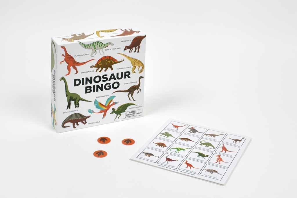Laurence King Publishing Games Dinosaur Bingo - by Caroline Selmes
