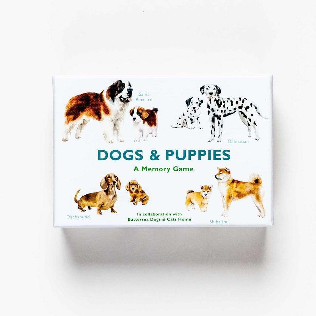 Laurence King Publishing Games Dogs & Puppies-A Memory Game