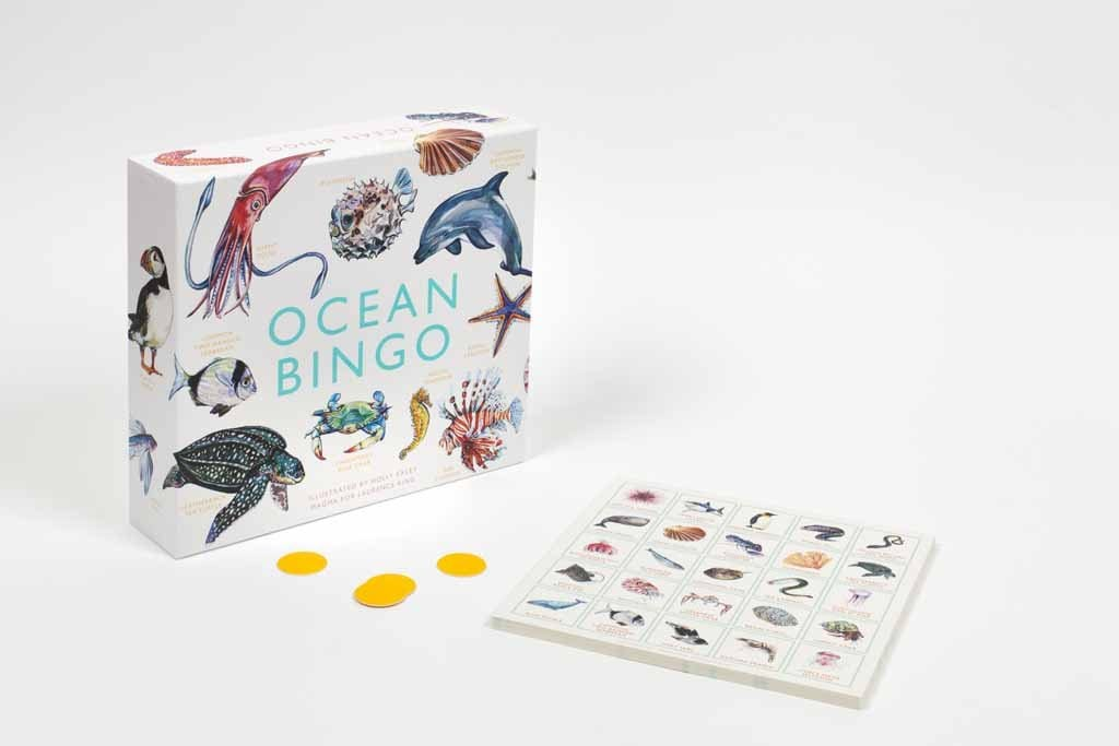 Laurence King Publishing Games Ocean Bingo - Holly Exley