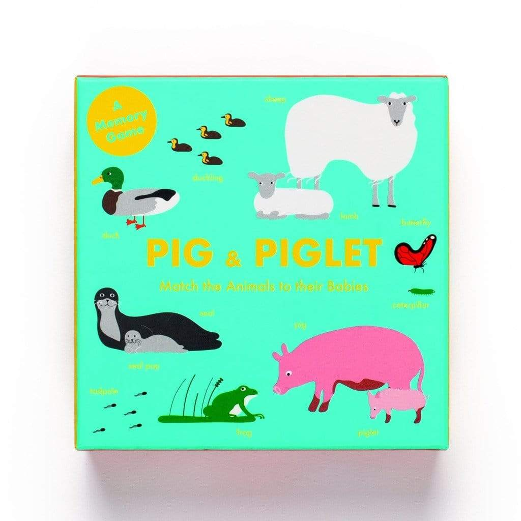 Laurence King Publishing Games Pig and Piglet: Match the Animals to Their Babies