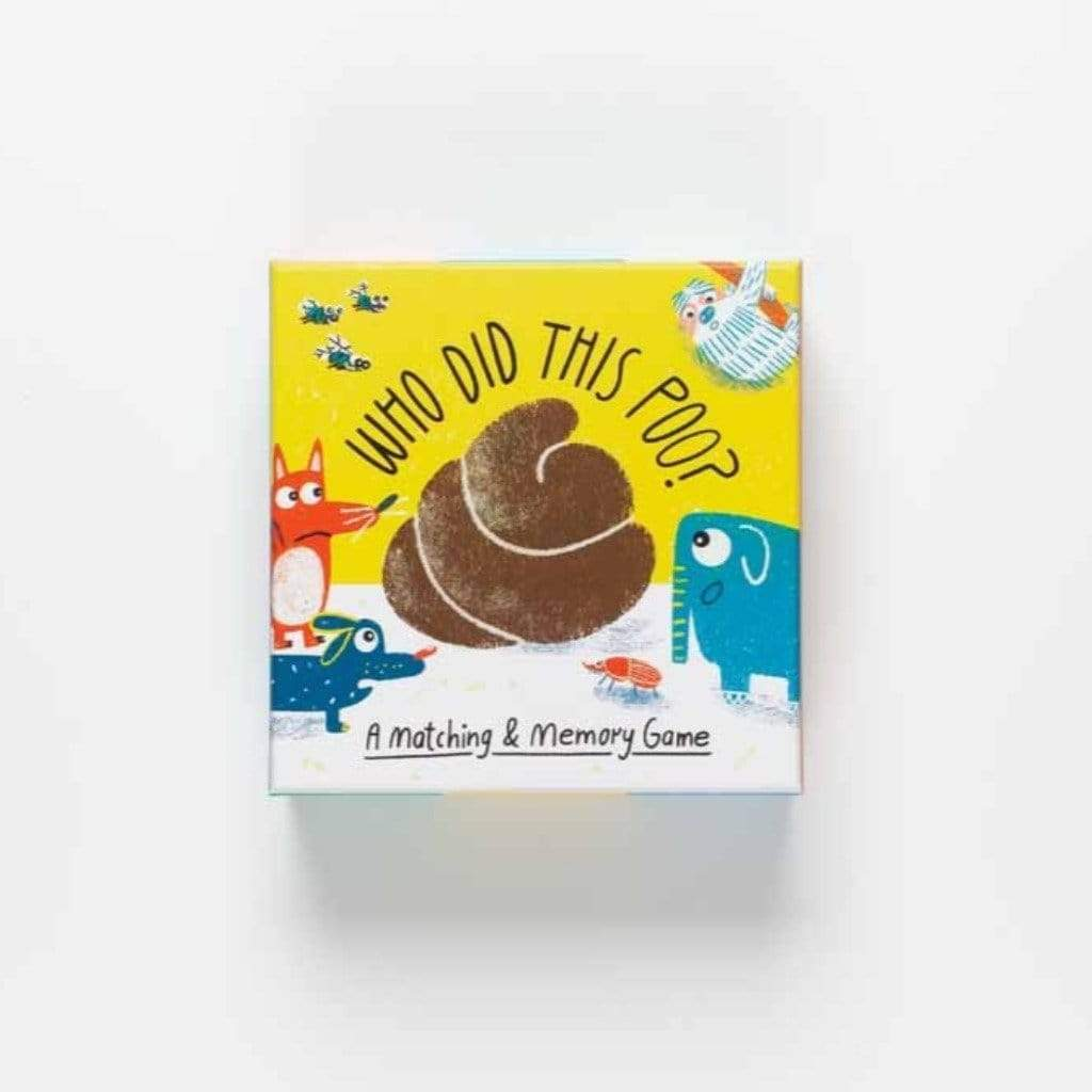 Laurence King Publishing Games Who Did This Poo?: A Matching & Memory Game- Aidan Onn