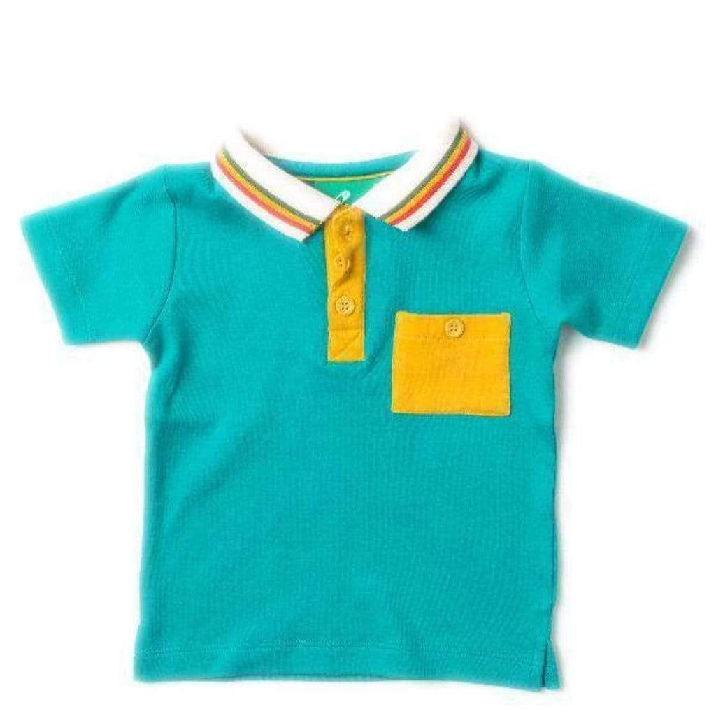 Little Green Radicals T-Shirt - Short Sleeve Little Green Radicals - Waterfall Polo Shirt