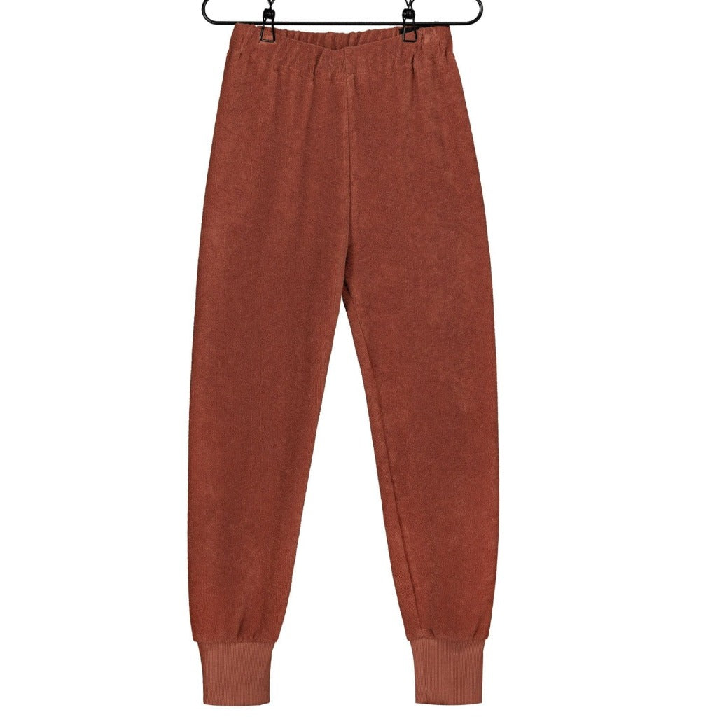 Mainio - Terry Trousers- Russet