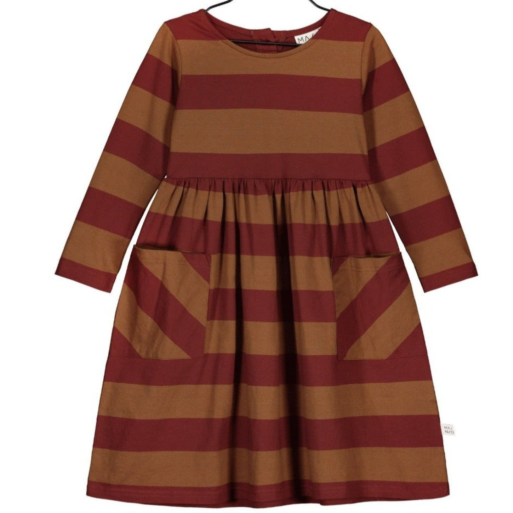 Mainio Dresses Mainio -Stripe Furrow Dress