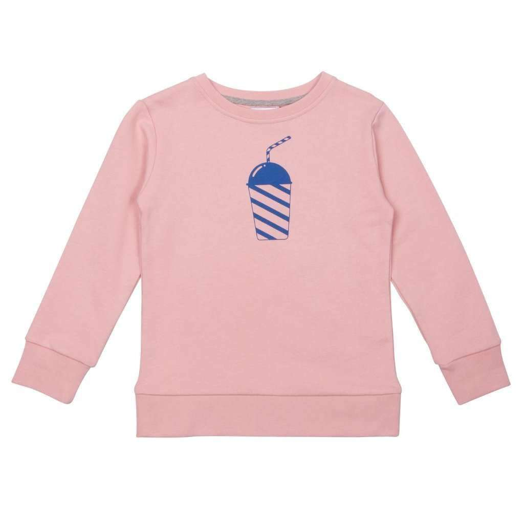 One We Like Jumpers & Knitwear One We Like BABY BASIC - Sweatshirt Milkshake