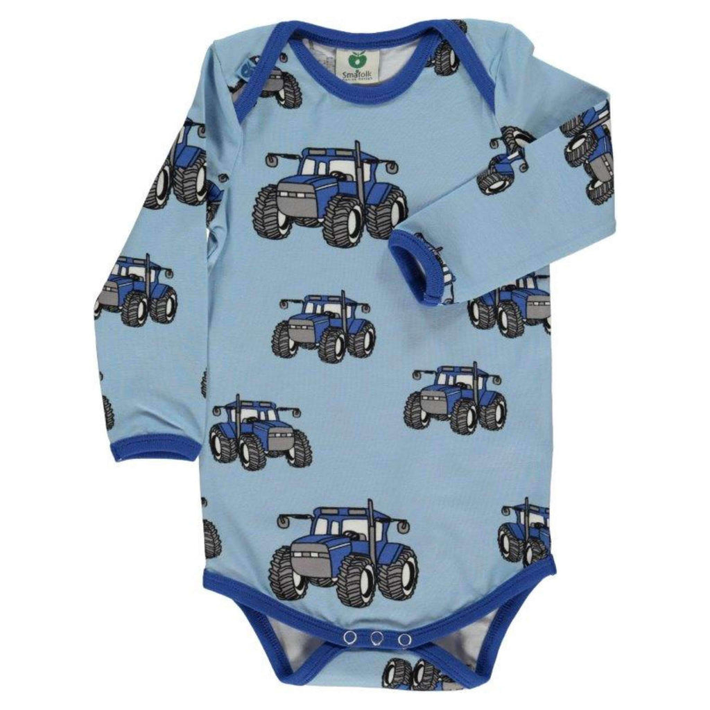 Smafolk Bodysuits Smafolk Body Suit with Big Tractor