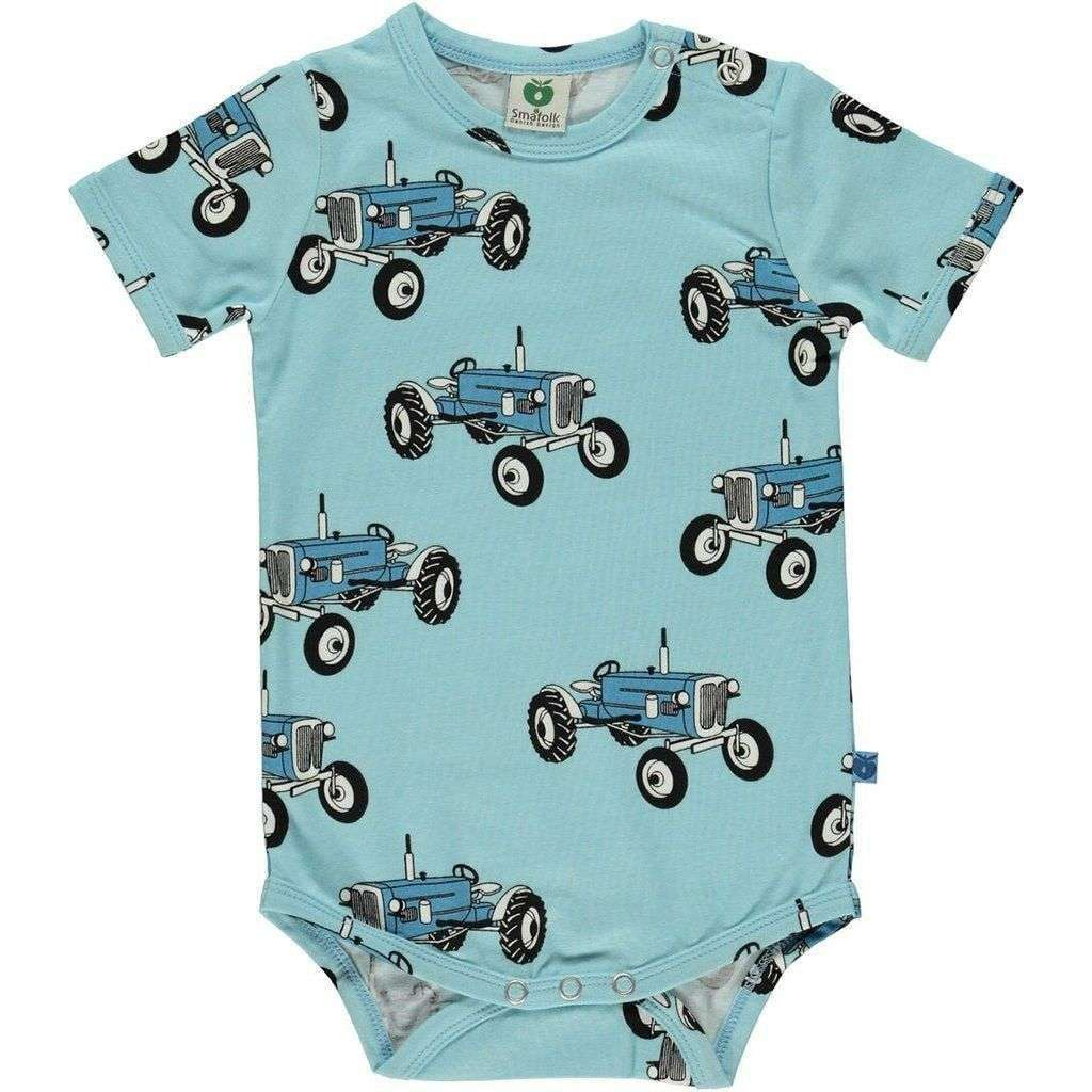 Smafolk Bodysuits Smafolk Body with old fashioned tractor