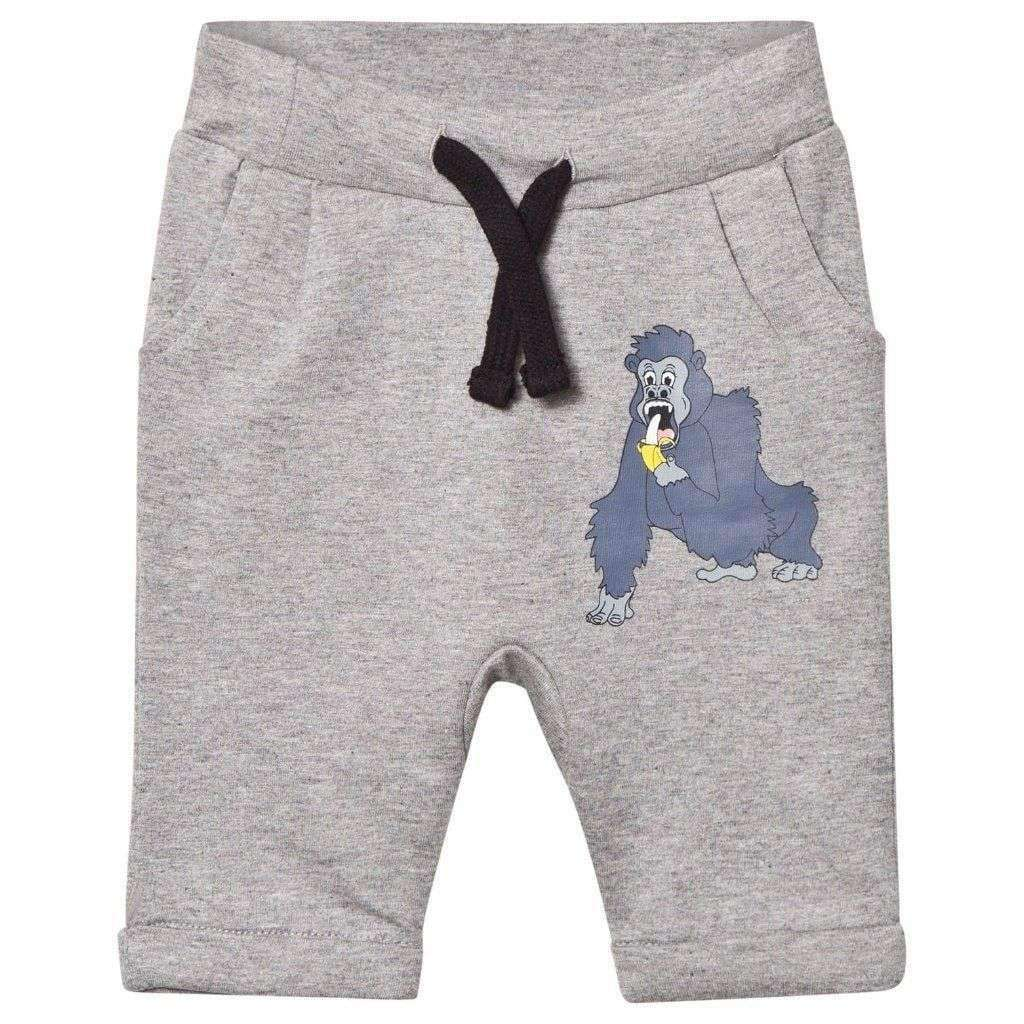 Tao & Friends Bottoms Tao & Friends Sweatpants Baby Gorillan single-Animal Grey