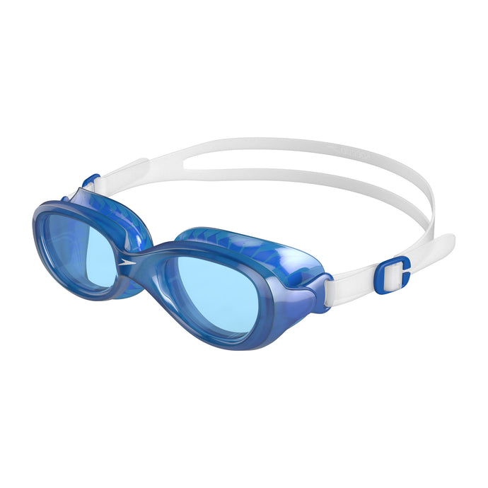 Junior Futura Classic (Clear/Neon Blue)