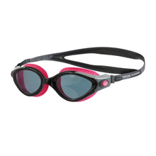 Load image into Gallery viewer, Futura Biofuse Female Flexiseal Goggle (Pink/Black/Smoke)