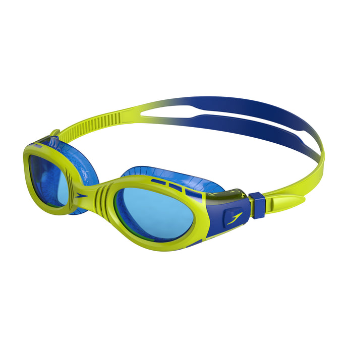 Junior Futura Biofuse Flexiseal Goggle (Blue/Green)