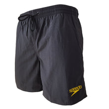 "Load image into Gallery viewer, Male Essentials 16"" Watershort (Black)"
