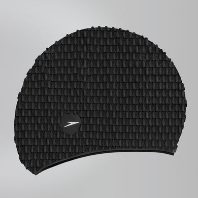 Bubble Swimcap Black