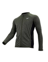 Load image into Gallery viewer, Speedo Casual Male Cardigan  Long Sleeve w/ Zipper (Hedge Grow / Black)