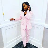 Girl Boss Pink-Blazer