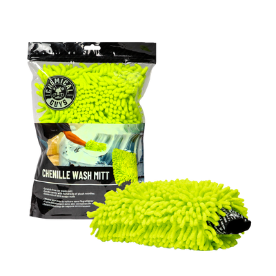 Chemical Guys Chenille Microfiber Wash Mitt - WWW.PLANETAUTO.IE