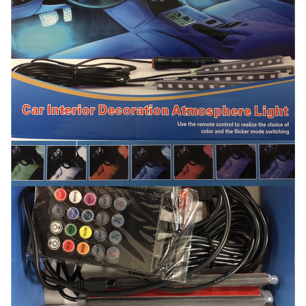 Car Interior Mood light Kit - WWW.PLANETAUTO.IE